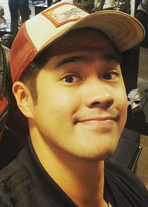 Ross Butler in a selfie as seen in November 2017