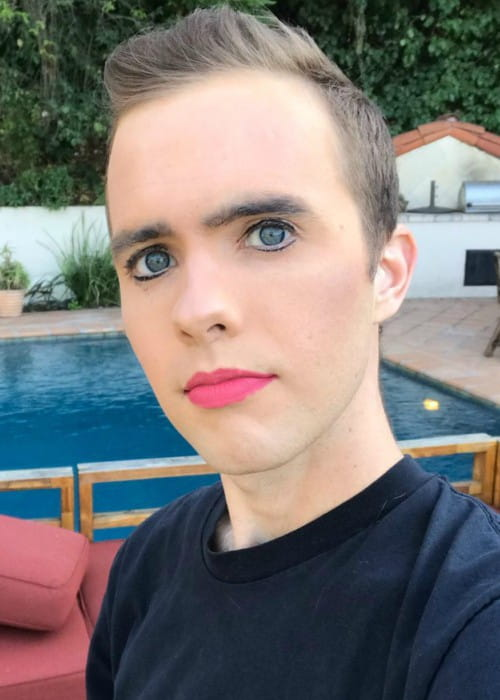 Ryland Adams in an Instagram selfie as seen in February 2018