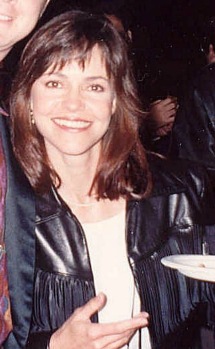 Sally Field during the 62nd Academy Awards in March 1990