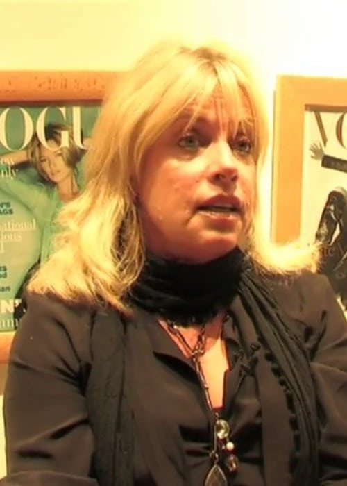 Sarah Doukas in a still from an interview in June 2010