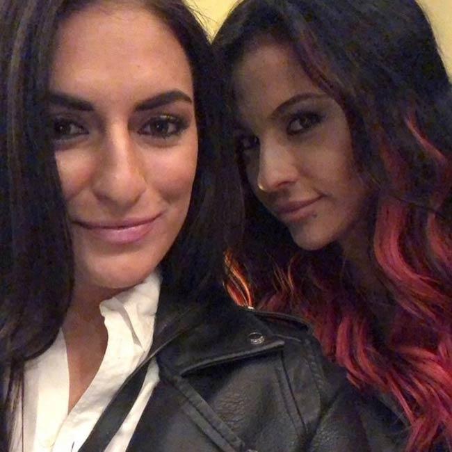 Sonya Deville and Zahra Schreiber in a selfie
