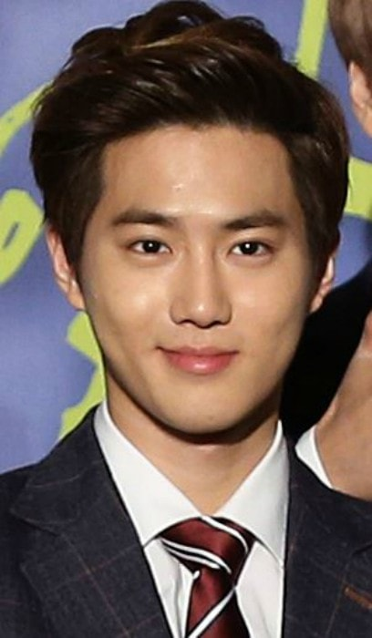 Suho at the KPOP World Festival in October 2013