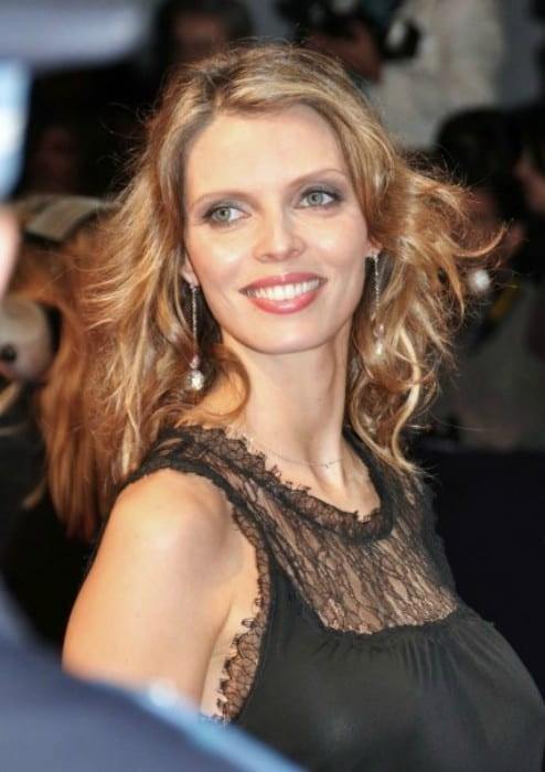 Sylvie Tellier at the Deauville Film Festival in 2009