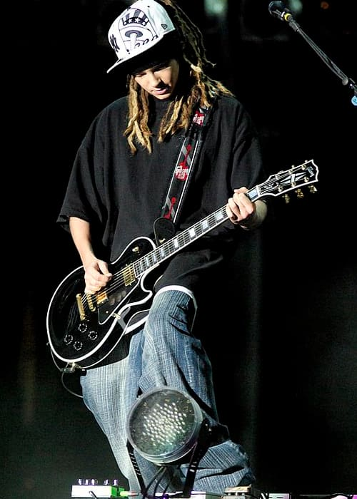 Tom Kaulitz at the Rock in Rio concert in 2006