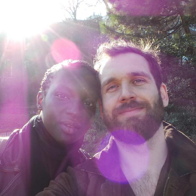 Will Farquarson and Awuoi in a day selfie in July 2016