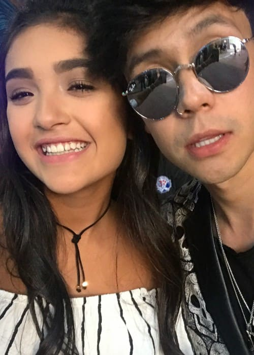 Xime Ponch and Mario Ruiz as seen in June 2017