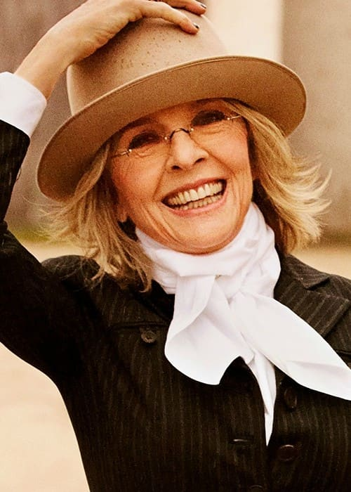 Actress Diane Keaton as seen in February 2012