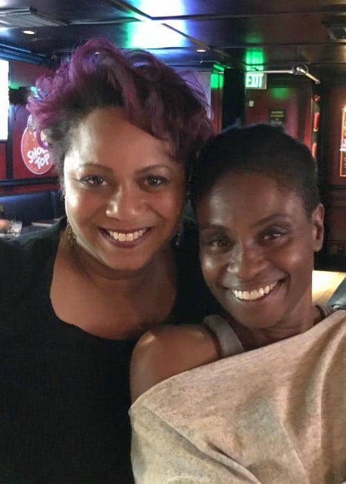 Adina Porter (Right) and Ava Truitt as seen in April 2018