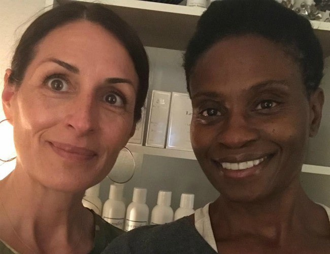 Adina Porter (Right) and Tina Jayes in a selfie in May 2018