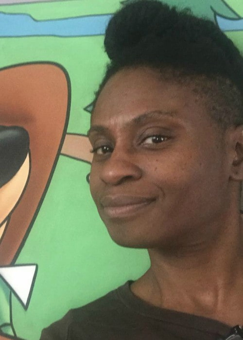Adina Porter in an Instagram selfie as seen in February 2018