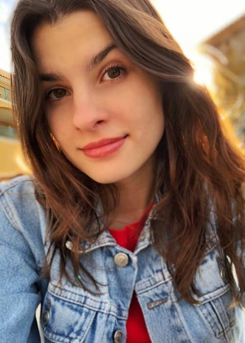 Agustina Palma in an Instagram selfie as seen in June 2018