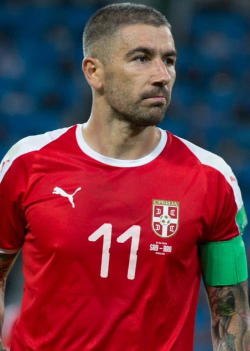 Aleksandar Kolarov in June 2018