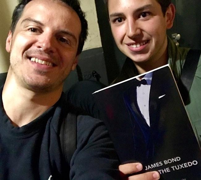 Andrew Scott in a selfie in July 2017