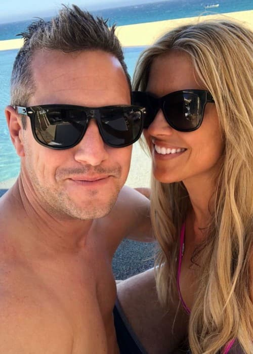 Ant Anstead and Christina El Moussa in a selfie in June 2018