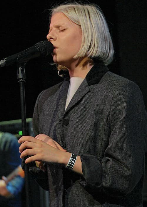 Aurora Aksnes at the Way Back When Festival in May 2015