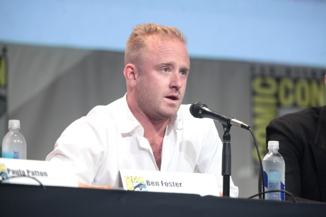 Ben Foster at the San Diego Comic Con in July 2015