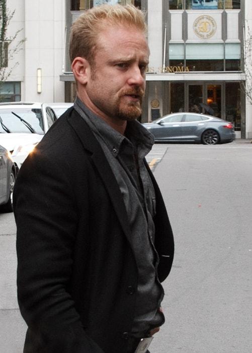 Ben Foster at the Toronto International Film Festival in November 2015
