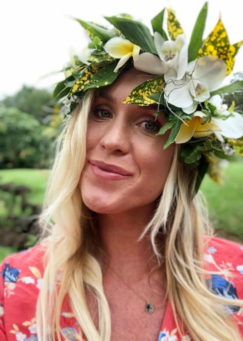Bethany Hamilton in an Instagram post as seen in February 2018