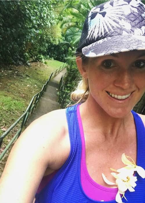 Bethany Hamilton in an Instagram selfie as seen in September 2017