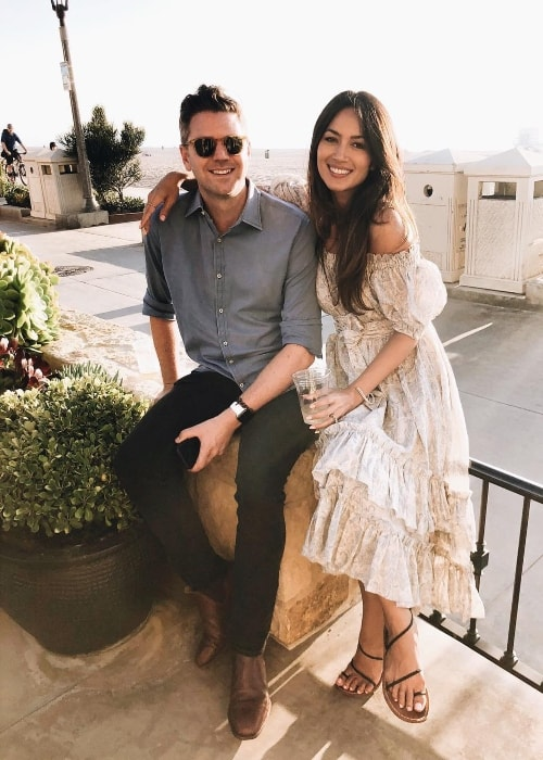 Bianca Cheah in an Instagram picture with her husband Simon Chalmers in February 2018