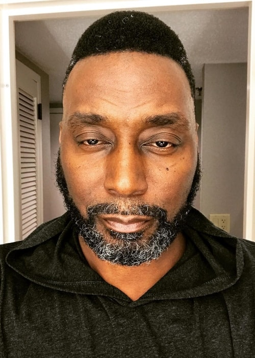 Big Daddy Kane in a selfie in January 2018