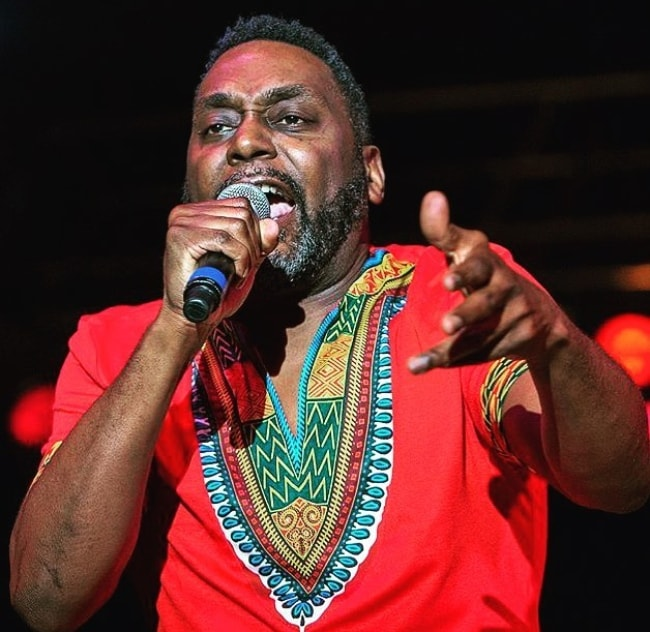 Big Daddy Kane while performing at a concert in Memphis, Tennessee in May 2018
