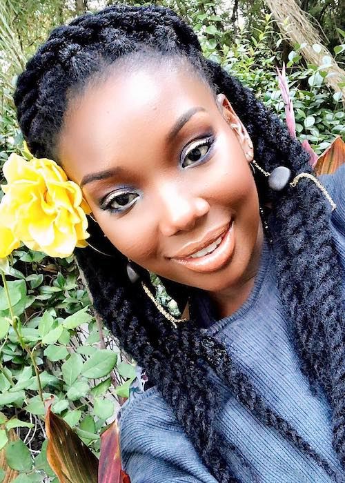 Brandy Norwood in a November 2017 selfie