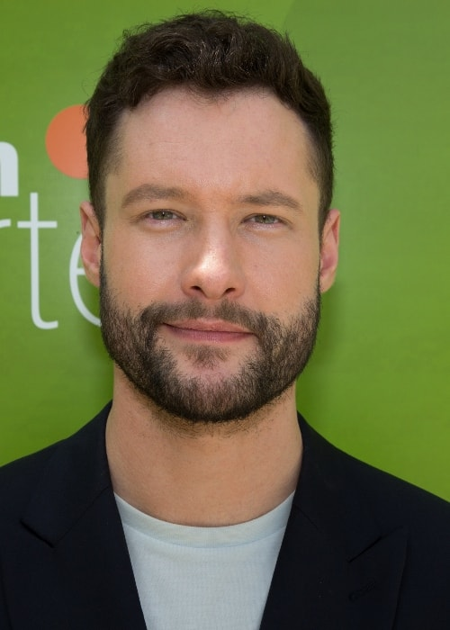 Calum Scott appearing as a guest on ZDF Fernsehgarten in May 2018