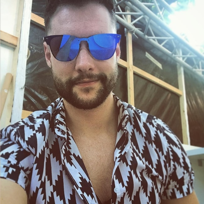Calum Scott at Cannes in June 2017