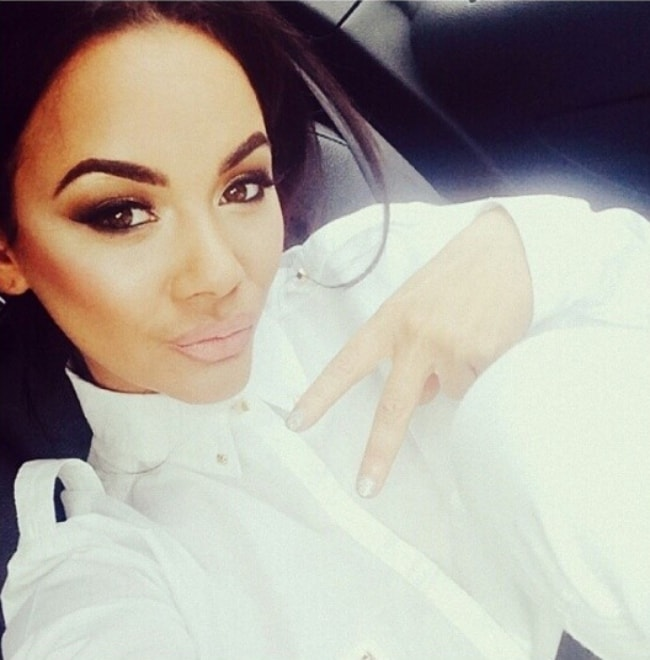 Chelsee Healey in a stunning selfie