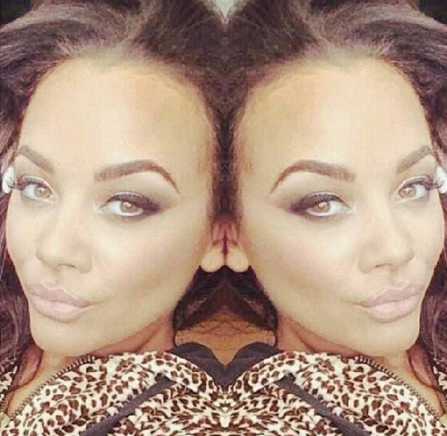 Chelsee Healey looking glamorous in a selfie