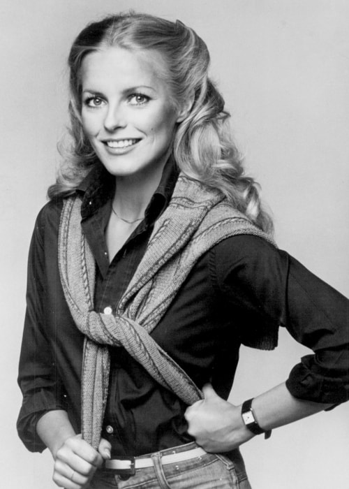 Cheryl Ladd in a picture from Charlie's Angels released in June 1977