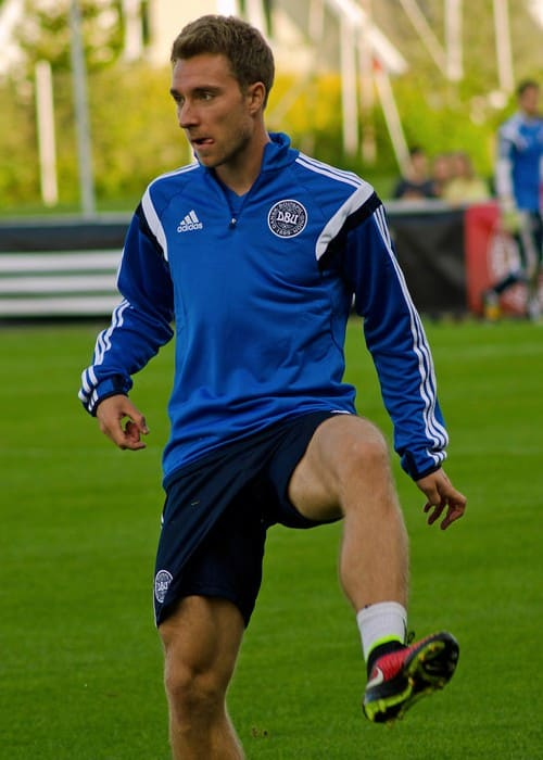 Christian Eriksen as seen in September 2014