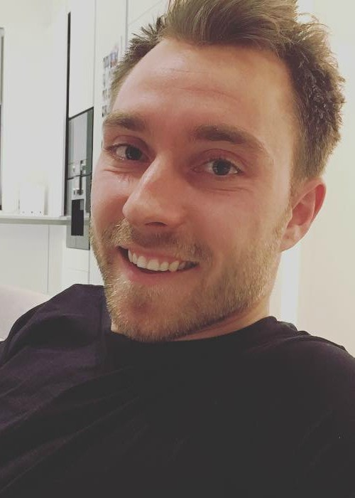 Christian Eriksen in an Instagram post as seen in January 2018