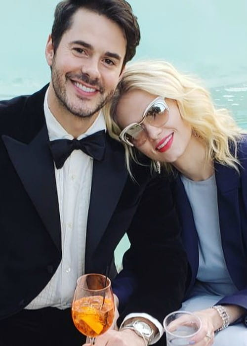 Claudia Lee and Jayson Blair as seen in June 2018