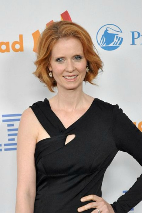 Cynthia Nixon at the 21st Annual GLAAD Media Awards in March 2010