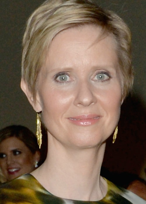 Cynthia Nixon during a party at Washington Hilton in May 2014