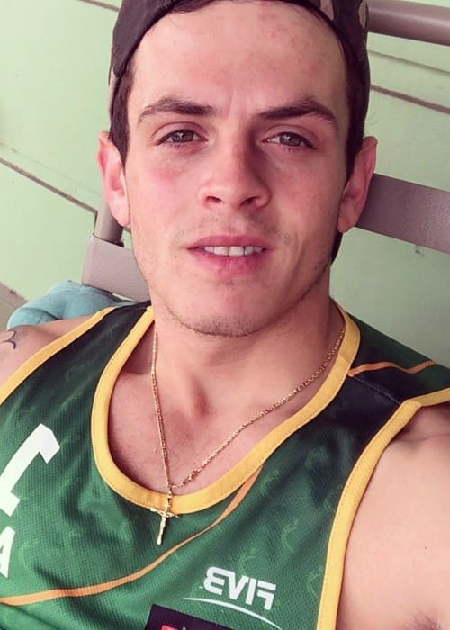 Daniel Sahyounie in an Instagram selfie as seen in October 2017