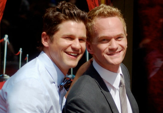 David Burtka (Left) and Neil Patrick Harris as seen in September 2011