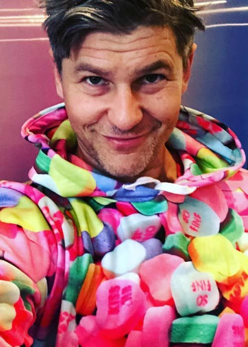 David Burtka in an Instagram selfie as seen in February 2018