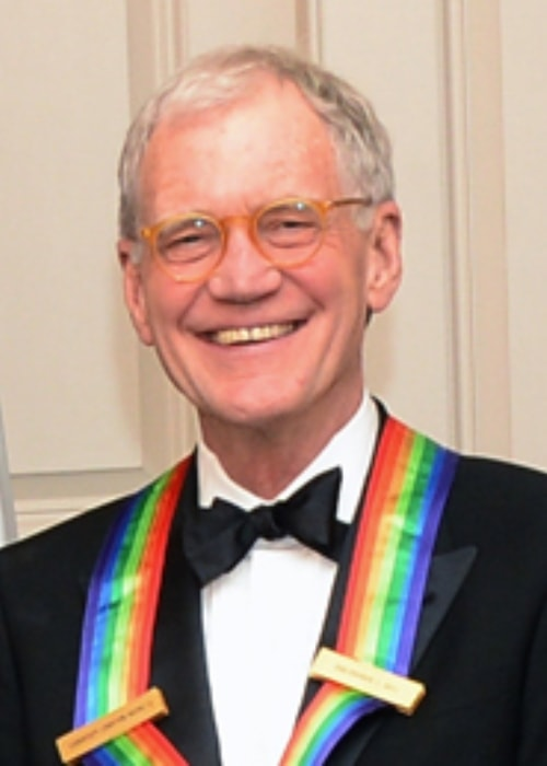 David Letterman at the 35th Annual Kennedy Center Honors in December 2012
