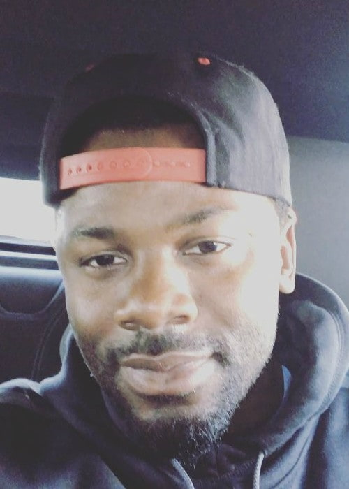 Derek Luke in an Instagram selfie as seen in July 2017