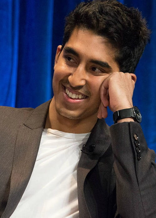 Dev Patel at the PaleyFest in 2013