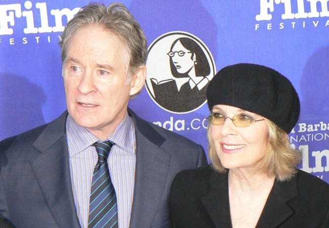 Diane Keaton and Kevin Kline as seen in January 2012