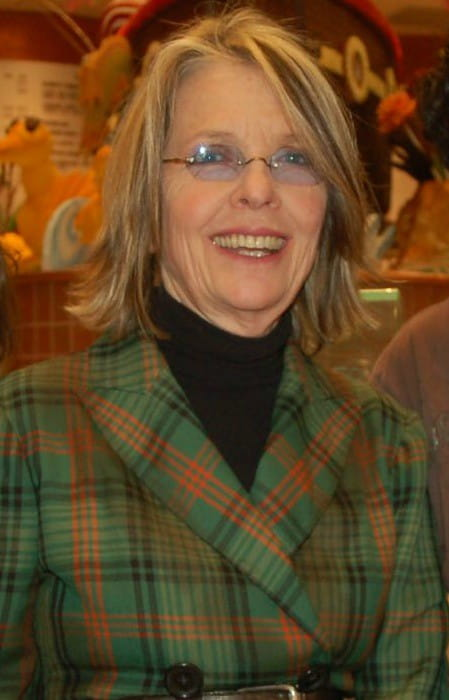Diane Keaton during an event in February 2007