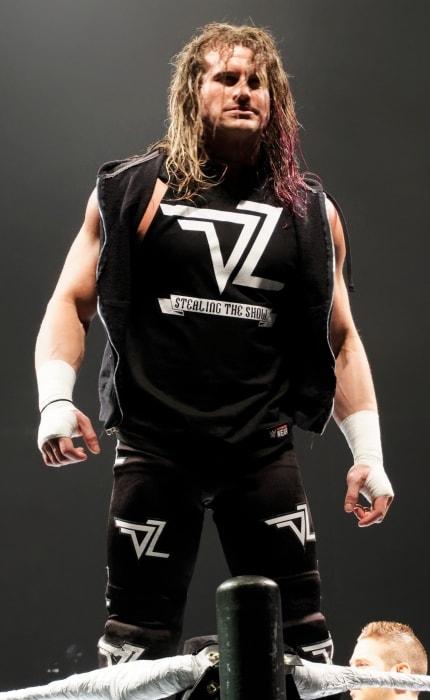 Dolph Ziggler as seen during WWE Live WrestleMania Revenge in April 2016