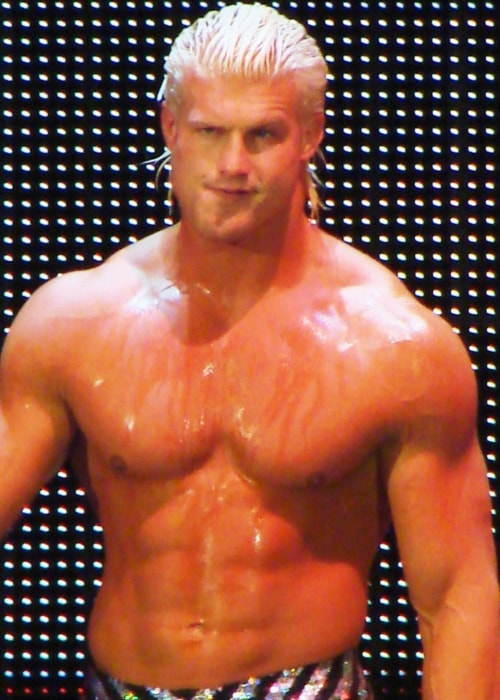 Dolph Ziggler during a WWE Smackdown live event in September 2008