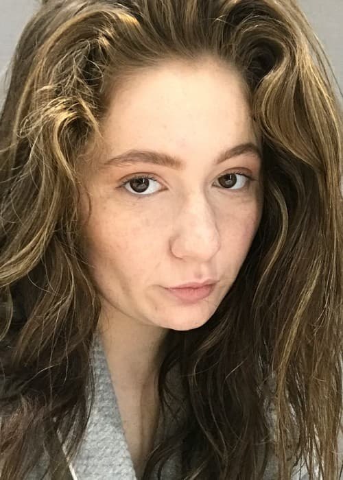 Emma Kenney in an Instagram selfie as seen in July 2018