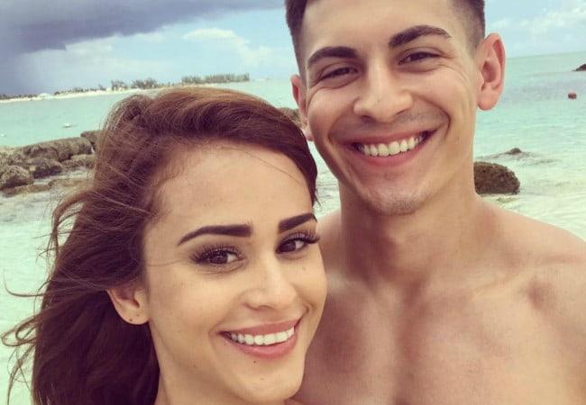 FaZe Censor and Yanet Garcia in a selfie in January 2018