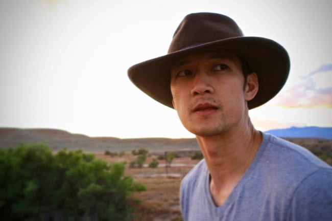 Harry Shum Jr. in an Instagram picture in May 2017